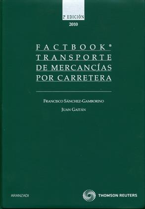 Factbook Transportes de mercancias por carretera