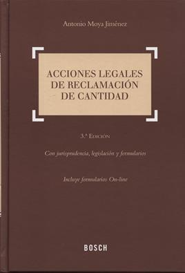 Acciones legales de reclamaci&oacute;n de cantidad