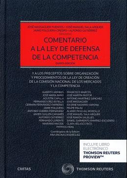 Comentario a la ley de defensa de la competencia