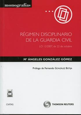 Regimen disciplinario de la Guardia Civil