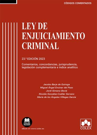 Ley de Enjuiciamiento Criminal Comentada