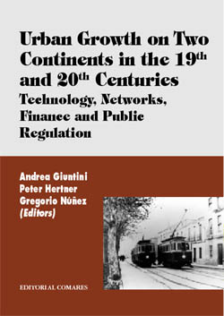 Urban growth on two continents in the XIX and XX centuries