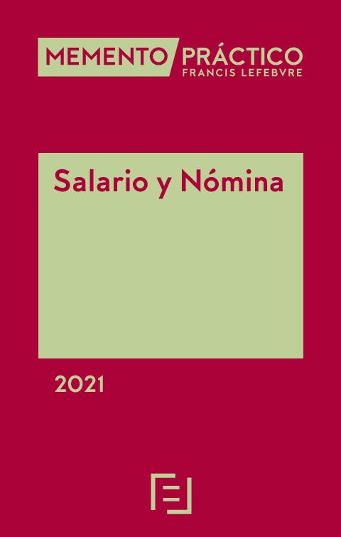 Memento Salario y Nomina 2020