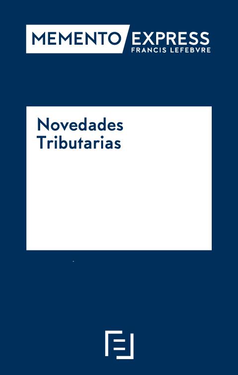 Memento Express Novedades Tributarias 2019