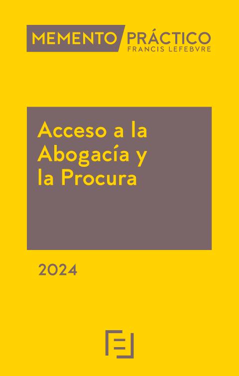Memento Práctico  Acceso a la Abogacía 2018-2019