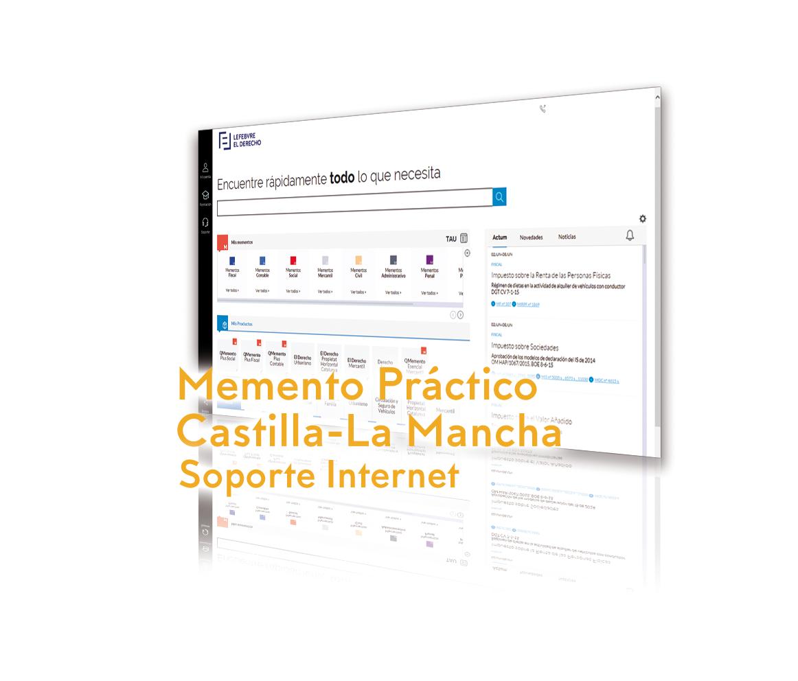 Memento Práctico Castilla-La Mancha Soporte Internet