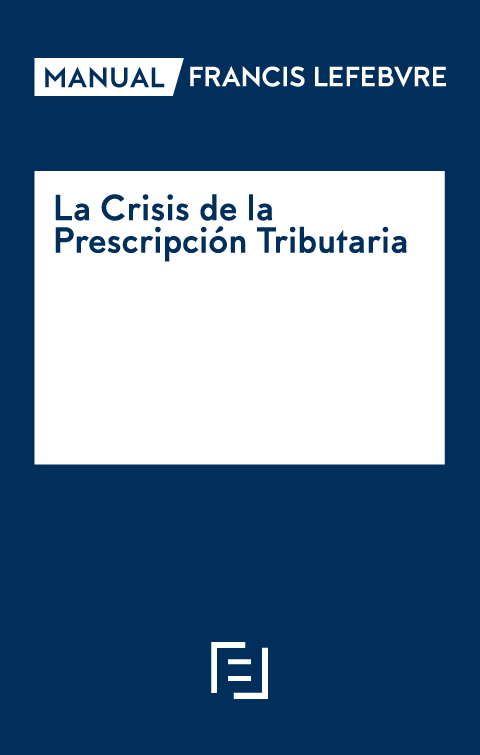 Manual La Crisis de la Prescripción Tributaria
