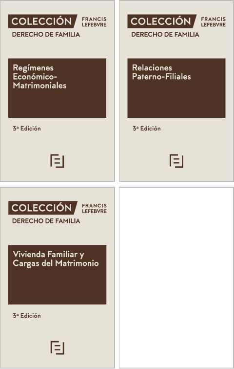 Pack Colección Derecho de Familia