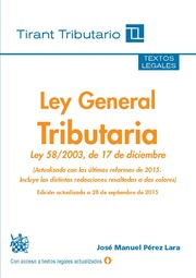 La Ley General Tributaria