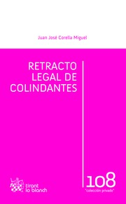 Retracto legal de colindantes