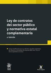Ley de Contratos del Sector Público y Normativa Estatal Complementaria ley 9/2017, de 8 de Noviembre