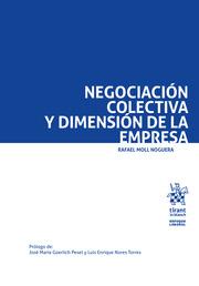 Negociación colectiva y dimensión en la empresa