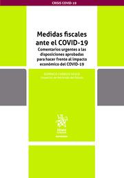 Medidas fiscales ante el COVID19. Comentarios