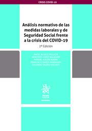 Analisis normativo de las medidas laborales y de seguridad social frente a la crisis del COVID-19