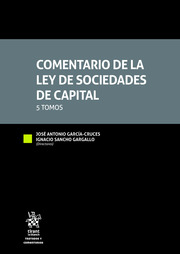 Comentario de la Ley de Sociedades de Capital(5 Tomos)